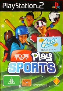 EyeToy: Play Sports (Australia) (En Fr De Es It Nl Pt Sv No Da Fi Pl El Cs Tr)